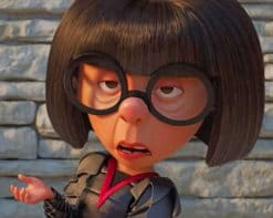 Edna Mode Paint by numbers