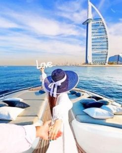Follow Me To Dubai Paint by numbers