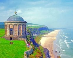 Mussenden Temple paint by numbers