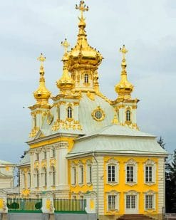 Peterhof Palace paint by numbers