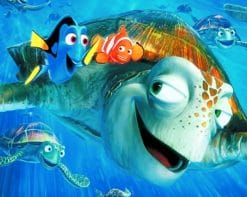 Finding Nemo Disney paint by numbers