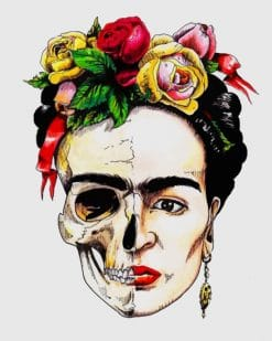 Frida Kahlo Skull Paint by numbers