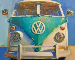 Aesthetic Volkswagen paint by numbers
