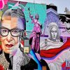Bader Ginsburg Mural Piant by numbers
