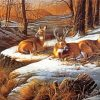 White-tailed-deers-paint-by-numbers