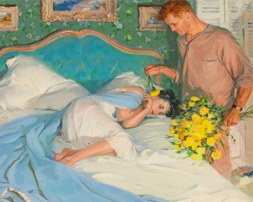 vintage-couple-in-love-paint-by-numbers
