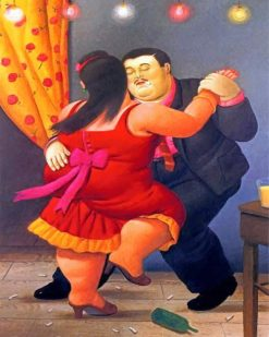 couple-dancing-botero-paint-by-number