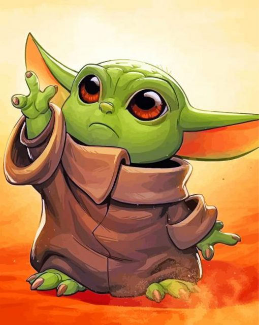 Baby-Yoda-paint-by-numbers