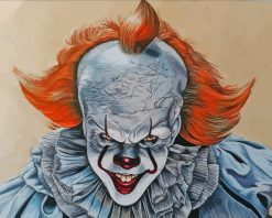 Clown Pennywise It paint by numbers