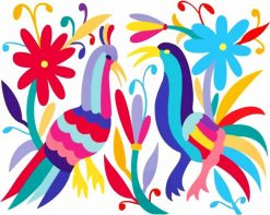 Otomi Folk Art paint by numbers