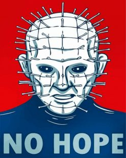 Pinhead Illustration paint by numbers