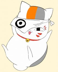 Happy Natsume paint by numbers