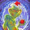 Scary Grinch paint by numbers